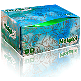 Servetele la cutie, Mototol de Luxe alb, 4 straturi, 24 pachete 70 bucati