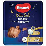 Scutece-chilotel de noapte Huggies Elite Soft Pants (nr 6) 15-25kg, 16 bucati
