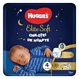 Scutece-chilotel de noapte Huggies Elite Soft Pants (nr 4), 19 buc, 9-14 kg