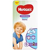 Scutece Huggies Pants Boy, marimea 6, 15-25 kg, 44 bucati