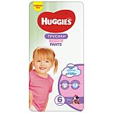 Scutece Huggies Pants Girl, marimea 6, 15-25 kg, 44 bucati