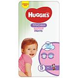 Scutece Huggies Pants D Girl Mega, marimea 5, 12-17 kg, 48 bucati