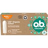 Tampoane OB Organic Super, 16 bucati