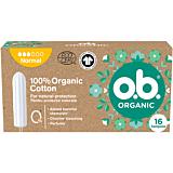 Tampoane OB Organic Normal, 16 bucati