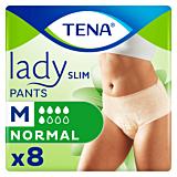 Chilot pentru incontinenta urinara Tena Lady Slim Pants marime M, 8 bucati