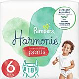 Scutece-chilotel Pampers Harmonie Pants, Marimea 6, 15+ kg, 18 bucati