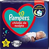 Scutece-chilotel de noapte Pampers Night Pants, Marimea 6, 15+ kg, 19 bucati
