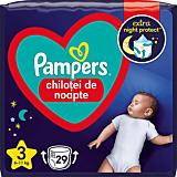 Scutece-chilotel de noapte Pampers Night Pants, Marimea 3, 6-11 kg, 29 bucati