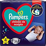 Scutece-chilotel de noapte Pampers Night Pants, Marimea 4, 9-15 kg, 25 bucati