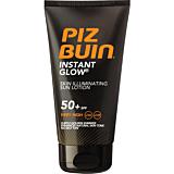 Lotiune de protectie solara Instant Glow Skin cu efect de iluminare Piz Buin SPF 50+, 150ml