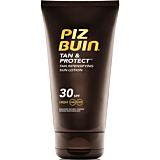 Lotiune de soare pentru bronzare accelerata si protectie a bronzului Piz Buin Tan&Protect SPF 30, 150 ml