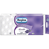 Hartie igienica, Regina Delicate Lavender, 3 straturi, 10 role