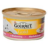 Hrana umeda pentru pisici cu carne de vita Purina Gourmet Gold 85g