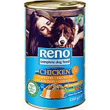 Hrana umeda pentru caini cu pasare Reno 1240g