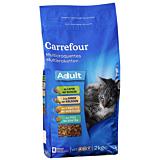 Biscuiti cu iepure si curcan pentru pisica Carrefour 2kg