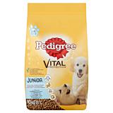 Hrana uscata cu pui si orez pentru caini juniori Pedigree Vital Protection 10kg