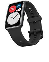 Smartwatch Huawei B09 Black, ecran Amoled, compatibil Android si iOS, Rezistent la apa 5 atm, Negru