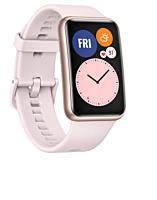 Smartwatch Huawei B09 Pink, ecran Amoled, compatibil Android si iOS, Rezistent la apa 5 atm, Roz