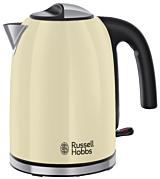 Fierbator Russell Hobbs Colours Plus Classic Cream 20415-70, 1.7 Litri, Fierbere rapida, Crem/Inox