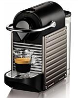 Espressor cu capsule Nespresso Krups XN304T10 Pixie Titan, 19 Bar, 0.7 Litri, Negru/Gri
