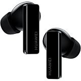 Casti bluetooth Huawei FreeBuds Pro, In-Ear, Microfon, True wireless, Carcasa Incarcare Wireless, Noise Cancelling, Black