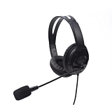 Casti gaming Tellur Basic PCH2, microfon, control fir, USB, negru