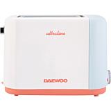 Prajitor de paine Daewoo DBT90U, 900 W, 6 nivele rumenire, functie dezghetare, functie reincalzire, Alb
