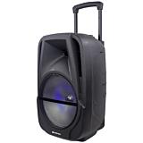 Boxa tip troller Vortex VO2604, 50 W, Bluetooth, USB, Negru