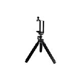"Tripod flexibil pentru mobil, Omega OT01, 3.5""-6"", rotativ 360 grade, Negru"