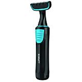 Aparat de tuns pentru barba si mustata, Scarlett SC-TR310M50, Baterii, 2 piepteni, Negru/Albastru