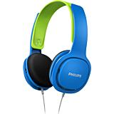 Casti audio pentru copii Philips SHK2000BL/00, cu fir, Albastru