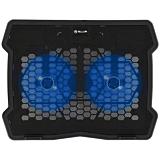 """Cooler laptop Tellur Basic, 15.6"""", 2 ventilatoare, Negru"""