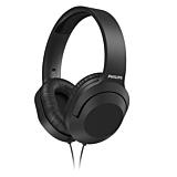Casti Audio Over-Ear Philips, TAH2005BK/00, cu fir, Negru