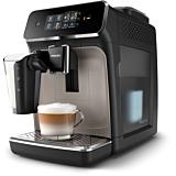 Espressor automat Philips EP2235/40, 12 setari de macinare, 15 bar, 3 trepte intensitate , Filtru AquaClean, Ecran tactil, Negru/Argintiu