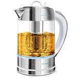 Fierbator Cecotec ThermoSense 370 Clear, 2200 W, 1.7 Litri, Inox