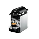 Espressor Nespresso by Delonghi Pixie EN124.S, 1260 w, 19 bar, 0.7L, Negru/Argintiu