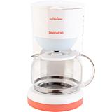Cafetiera Daewoo DCM900U, 900 W, capacitate 1.25 Litri, indicator nivel apa, Alb