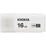 Stick de memorie USB Kioxia U301, 16GB, USB 3.0, Alb