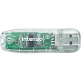 USB 2.0 Intenso Rainbow Line, 32GB, Transparent