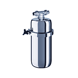 Filtru apa retea Viking midi Aquaphor, capacitate filtrare 30000- 60000 L, Argintiu