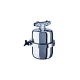 Filtru apa retea Viking mini Aquaphor, capacitate filtrare 15000-30000 L, Argintiu