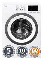 Masina de spalat rufe Beko WUE9736XST, 9 Kg, 1400 rotatii, Clasa C, HomeWhiz, SteamCure, Alb