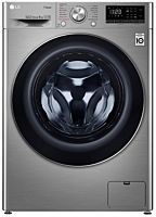 Masina de spalat rufe F4WN408S2T LG , 8 kg, 1400 RPM, Clasa D, Direct Drive, Turbo Wash, Steam, Smart Diagnoisis, WiFi, Argintiu
