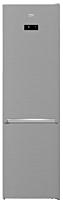Combina frigorifica Beko, RCNA406E40ZXBN, 362 Litri, H 202.5cm, Clasa E, Gri, Neofrost DualCooling, Harvest fresh