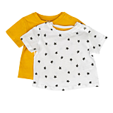 Setx2 tricou bebe 3 luni/4 ani