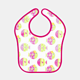 Baveta bebe roz Baby Tex