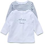 Setx2 tricou nou-nascut 3/18 luni
