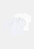 Setx2 tricou nou-nascut 0/9 luni