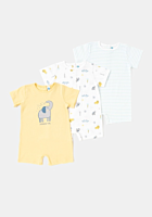 Set 3 salopete bebe 0/36 luni