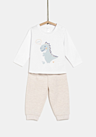 Pantaloni + tricou bebe 6 luni/4 ani